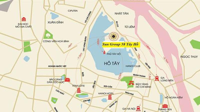 Chung cư Sun Group Tây Hồ